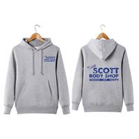 Vintage Style Pullover One Arbre Hill Mechanic Mechanic Hill Keith Scott Body Shop Sweat à capuche SweaterShirt Y200704