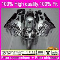 KAWASAKI zx12r ZX1200 CC ZX 12R 12 R için Enjeksiyon 1200 71HM.26 1200cc zx12r 02 03 04 05 06 2002 2003 2004 2005 2006 OEM Fairing Sıcak Gümüş