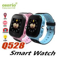Дети Мода Дети Часы Q528 Смарт Часы локатора экрана Расположение устройства Tracker SOS для детей Дети Баян Kol Саати