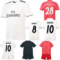 Family Matching Outfits Real Madrid Soccer Jersey Adult Kids...
