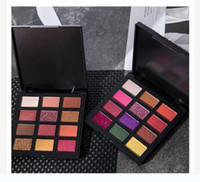 Diamond eye shadow disc Pearl dumb bright 12 color eye shado...