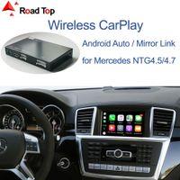 Беспроводной Carplay для Mercedes Benz ML GL W166 X166 2012-2015, с Android Auto Morker Link Airplay Car Play Function