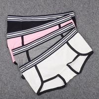 Calcinha bonito Boyshorts para mulheres menino curto de algodão grossa underwear mulheres boxer prata waistband de alta qualidade lingerie feminina y200425