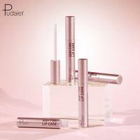 Baby Pink Pudaier Cuidados Lip Moisturizing Lip Balm Waterproof Longa Duração linhas Clarear lábio Shimmer Lipgloss da Base
