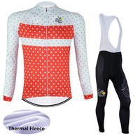 New Arrival. factory direct sale Tour de france 2016 men Long Sleeve Cycling  Jersey kits Winter thermal fleece Bike Clothing ... 26556d429