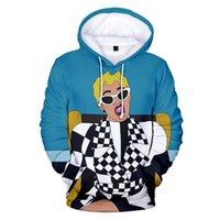 2019 New Fashion Hip Hop CARDI B 3D Felpe uomo / donna Autunno Harajuku pullover Felpe CARDI B inverno 3D Hooded