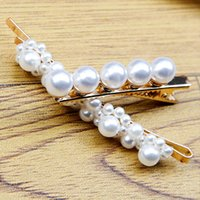 Pins Hair Clips For Women Styling Tools Pearl Hairclips 3*1 ...