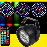 Neue 78 LED Perlen Bühnenbeleuchtung Bunte Par Lampe Bühnenbeleuchtung Party Hochzeit Blitzlicht für Disco DJ Party Show Home Club 2 stücke