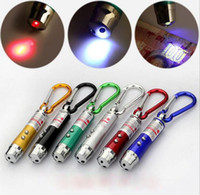 Anahtarlık Ücretsiz DHL ile 3 1 5 mw Lazer Kalem Pointer Mini LED Fener Meşalesi alüminyum alaşım Fenerler Acil meşaleler