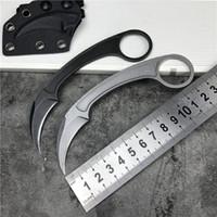 전술적 도구 야외 나이프 생존 EDC karambits 유틸리티 발톱 칼을 사냥 주머니 고정 블레이드 대거 나이프 접는 CSGO 나이프 블레이드