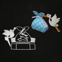 Bird Candy BoX Craft Metal Cutting Dies for Scrapbooking DIY Album Embossing Folder Paper Card Maker Template Decor Stencils Crafts