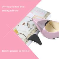 뾰족한 하이힐 크기 조절 무거운 발 뒤꿈치 패드 쿠션 2020 새로운 드레스 신발 발가락 플러그