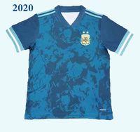 2020 Argentine Away Team National Soccer Jerseys 2020 Copa América # 10 Messi # 9 Aguero # 21 Dybala # 22 Lautaro Football Uniforms