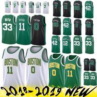 179dafc4bca Wholesale larry bird jersey for sale - Group buy Boston Jersey Celtic Kyrie  Jayson Tatum Larry