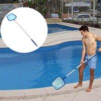 Herramientas piscina de limpieza Hoja Hoja Grado Profesional Retire malla fina piscina Skimmer Net Bolsa acuario desmontable Red de pesca