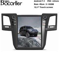 12,1 Zoll Auto-DVD für Toyota Fortuner / 4Runner / Revo 2012-2015 Unterstützung Radio / GPS / Bluetooth / Video / WIFI / Telefon-Link