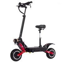 janobike T85 adult electric scooter 60V5600W double drive off-road electric scooter with disc hydraulic brake1