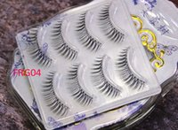 5Pairs 3D Faux Mink Hair False Eyelashes Extension Wispy Flu...