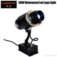 TIPTOP Luz de Palco TP-E27B 60W Waterproof Logo levou luz rotação / Stop Manual de Controle Longo Projeto Distância cor branca Partido Gobo Luz