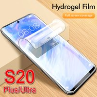 Soft-Schirm zu schützen s20 Schutztelefonabdeckung für Samsung-s 20 plus ultra Galaxie s20plus s20ultra s20case volle Abdeckung weiche Hydrogel
