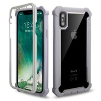 Hybrid Defender Phone Case for iPhone XS MAX XR 6s 8 7 Plus ...