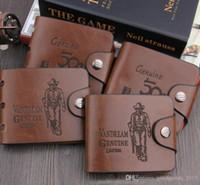 Marka Yeni Erkek Yüksek Kalite PU Deri Cüzdan Cepler Kart Debriyaj Cente Bifold Çanta Vintage Basit Adam Çanta A459