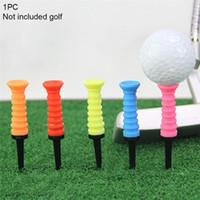 1 pièce extérieure loisirs Golf Tee Nail élastique professionnel clip boule ongles extérieur Accessoires Golf ongles couleur aléatoire