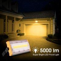 LEDフラッドライトCOBフラッドライト50W屋外防水構造現場スタジアム照明フラッドライト屋外光プロジェクションランプ