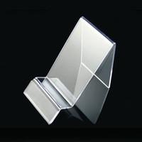 Neuer Acryl-Handy-Handy-Ausstellungsstand-Halterstand für 5.5inch iphone Samsung-Galaxie