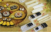 Round+heart+square design sushi mold mould set hand sushi maker rice moulding 100% quality guranteed