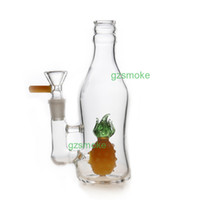 Heady Elephant Perc Dab Rig Bong de vidro com banger de quartzo ou bacia Tubos de água Oil rigs Smoking Bongos Pipe Filter Octopus Honeycomb Animal