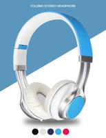 EP16 Wired Mobiltelefon Headphone Stereo Fällbar Headset Hörlurar 3.5mm Hörlurar Huvudtelefon för iPhone MP3-speldator