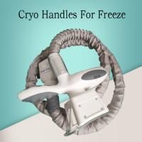 Cryolipolysis Handspieces Cryo Handles para la máquina congelación de grasa Máquina congelación de grasa que adelgaza la máquina CE / DHL