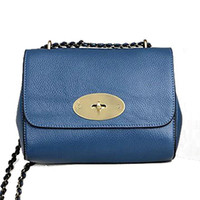 Wholesale- 100% Real genuine leather women bags lily o word c...