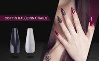 100 stks transparant / romig-wit / wit valse franse stijl nagel tips kunstmatige nep nagels kunst manicure tools valse nagels