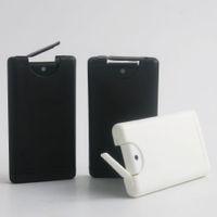 360x 15 ml Plastikspray-Duftstoff-Kasten-Karte Moisturizing Klar Parfümzerstäuber Flasche nachfüllbare Duftstoff-Spray Pump