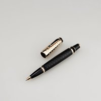 18k Gold Cap Roller Pen Women Men Male Austria Diamond Short...