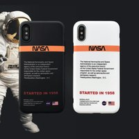 US street Trend astronaut Space Soft off silicon cover case ...