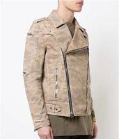 2019 Мужская Джинсовая Куртка Высокого Качества Модные Джинсовые Куртки Slim Fit Повседневная Уличная Одежда Винтаж Мужчин Жан Одежда Плюс Размер