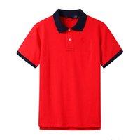lauren ralph polo Ralph Polo Shirts Männer Mens Designer Polos Marke kleines Pferd Stickerei Kleidung Männer Stoff Brief Golf Polo T-Shirt mit Kragen beiläufiges T-Shirt T-Shirt