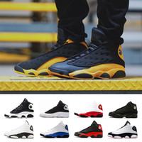 2019 Neue Designer Basketballschuhe 13 13s Flight red Barons weiß GS Hyper Pink Herren Sport Sneaker Schuh PE Größe 7-13