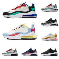nike air max 270 react 27C réagir mens chaussures de course 270s meilleure qualité Phantom BAUHAUS OPTICAL formateurs Hyper Jade sport mens designer chaussures baskets