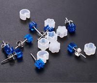 Mini orecchini a bottone Stampo in silicone Orecchini a resina epossidica fatti a mano a forma di stella Stella a forma di fiore Orecchino Pendente Gancio per l'orecchio Strumento per gioielli in resina fai da te
