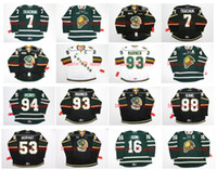 Maglia OHL London Knights 93 MITCH MARNER 7 MATTHEW TKACHUK 53 BO HORVAT 88 PATRICK KANE 49 MAX JONES 16 MAX DOMI 94 COREY PERRY Hockey