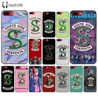Designer 2020 South Side Serpents alta qualidade de telefone para o iPhone 11 pro XS MAX 8 7 6 6S Plus X 5 5S SE XR grossista