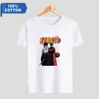 anime NARUTO T-shirt à manches courtes New Summer 2019 T-shirt New Hot Street Trend 100% coton