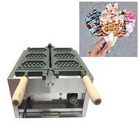 Petek gözleme makine kaplama Sigara sopayla Ücretsiz Kargo Ticari Elmas Şekli Waffle makinesi Makinası