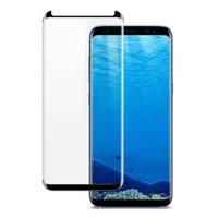 Case conviviale Verre Couverture complète pour Samsung S10 Plus Remarque 9 Full Curve Protecteur Adhésif Edess pour Samsung S8 S7 Bord Note 8 avec boîte