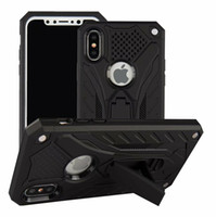 Armor hybrid phone case for iPhone 7 8 X XR XS Max TPU PC ca...