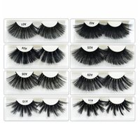 3D Protein Silk Ciglia Finte 25 MM Morbido Naturale Spesso Fasci Ciglia Eye Lashes Extension Eye Makeup Tool TTA509